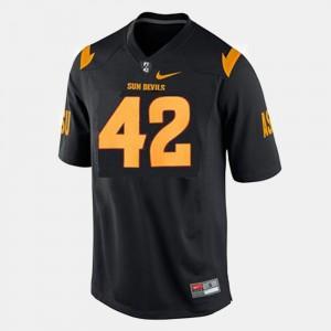 Black Football Men Pat Tillman College Jersey Arizona State #42