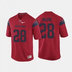 UofA For Men #28 Red Nick Wilson College Jersey Football