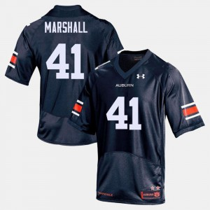 Navy Football Tigers For Men #41 Aidan Marshall College Jersey