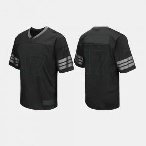 #17 Baylor University Black Mens College Jersey Football