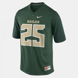 Lache Seastrunk College Jersey Football Green For Men Baylor Bears #25
