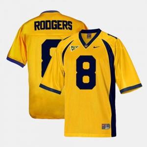 Football Gold Aaron Rodgers College Jersey Mens Cal Berkeley #8