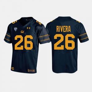 Bug Rivera College Jersey Men Football Navy Berkeley #26