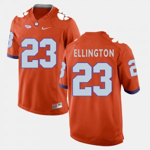 Football Andre Ellington College Jersey Men Orange #23 Clemson National Championship