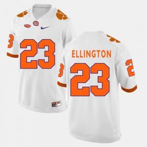 Andre Ellington College Jersey #23 Clemson Tigers Men Football White