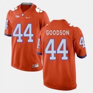 For Men Clemson National Championship Orange B.J. Goodson College Jersey #44 Football