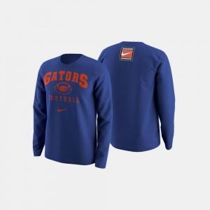 Florida Royal Blue Mens Football Retro Pack College Sweater