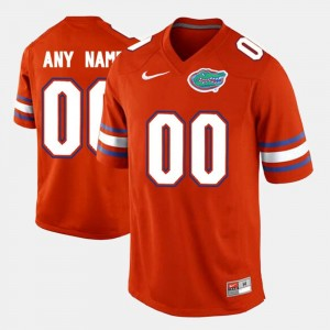 Men Limited Football University of Florida #00 College Customized Jersey Orange