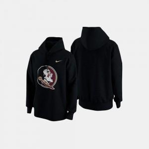 Football Retro Pack Men Black Florida State College Sweater