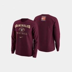 Garnet FSU College Sweater Football Retro Pack Mens
