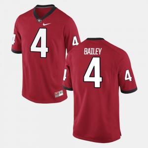 #4 Red Men Champ Bailey College Jersey Alumni Football Game UGA Bulldogs