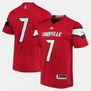 Mens College Jersey #7 Cardinals Red 2017 Special Games