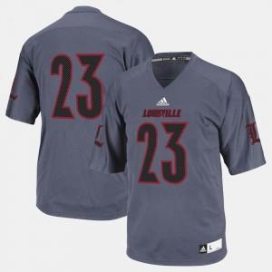 #23 Football Black Cardinal College Jersey For Men's