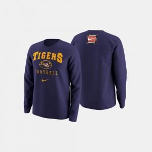 Purple For Men College Sweater LSU Tigers Football Retro Pack
