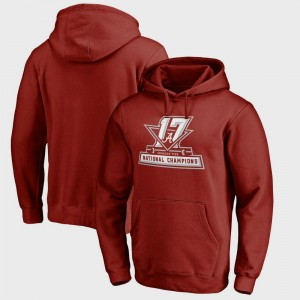 Bama Bowl Game College Hoodie Crimson For Men Football Playoff 2017 National Champions Official