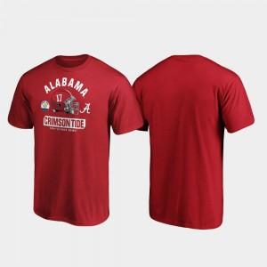 University of Alabama Spike For Men Crimson 2020 Citrus Bowl Bound College T-Shirt
