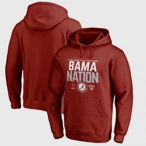 Mens Football Playoff 2018 Sugar Bowl Bound Delay Crimson Bowl Game University of Alabama College Hoodie