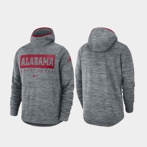 College Hoodie Gray Mens Spotlight University of Alabama Basketball
