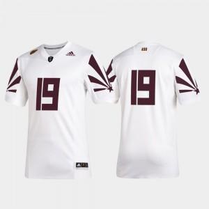 College Jersey #19 2019 Special Game Men's Premier Football White Arizona State University