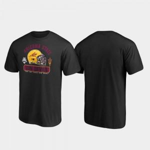 Black Sun Devils Spike 2019 Sun Bowl Bound College T-Shirt Mens