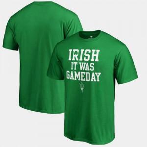 Kelly Green College T-Shirt Mens Irish It Was Gameday St. Patrick's Day Arizona State
