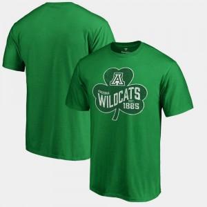 UofA Paddy's Pride Big & Tall College T-Shirt St. Patrick's Day Kelly Green Mens