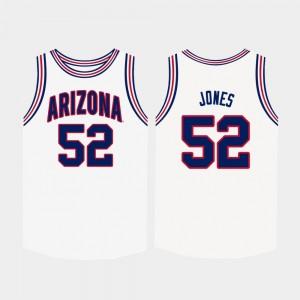 Arizona Men Basketball White #52 Kory Jones College Jersey