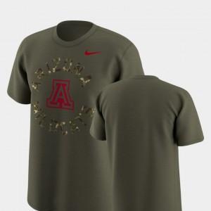 Wildcats Legend Camo Olive Men's College T-Shirt