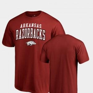 Cardinal Square Up Men University of Arkansas College T-Shirt