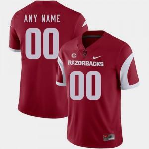 Cardinal University of Arkansas #00 Football College Custom Jerseys For Men