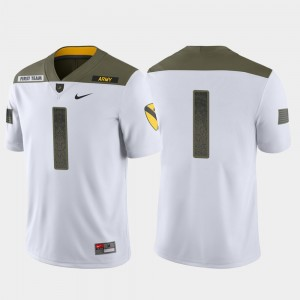 #1 Westpoint White For Men 1st Cavalry Division Limited Edition College Jersey