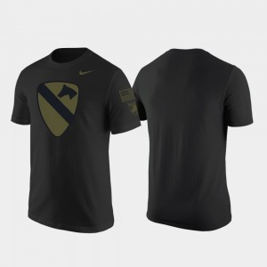 1st Cavalry Division Black Army Men's College T-Shirt