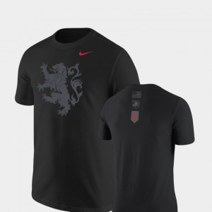 Army Rivalry Black Lion Men's College T-Shirt