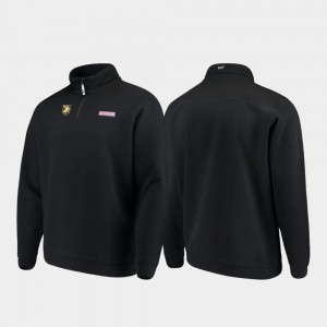 College Jacket Black Mens Shep Shirt Quarter-Zip West Point