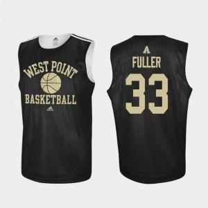 Black #33 Practice Cam Fuller College Jersey Basketball Men Army Black Knights