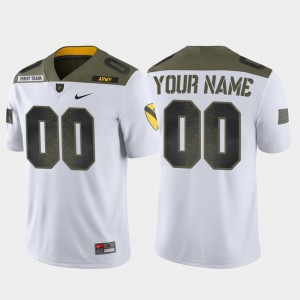 #00 Army West Point 1st Cavalry Division College Custom Jerseys White Limited Edition For Men's