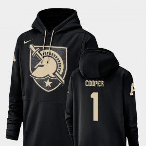 Champ Drive Football Performance #1 Army Fred Cooper College Hoodie Men Black