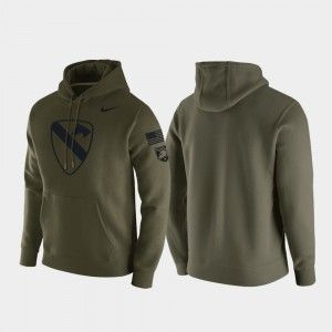 Men's 1st Cavalry Division United States Military Academy Green College Hoodie