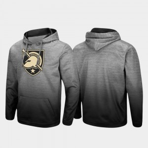 Pullover Sitwell Sublimated Army Heathered Gray Men College Hoodie