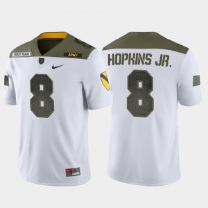 White Men United States Military Academy 1st Cavalry Division #8 Limited Edition Kelvin Hopkins Jr. College Jersey