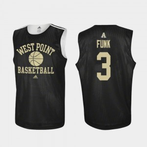 Basketball Tommy Funk College Jersey Mens Practice Black Westpoint #3