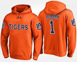 College Hoodie Orange No.1 Mens #1 AU