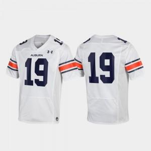 Replica Men College Jersey White Auburn #19