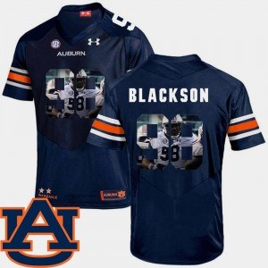 Pictorial Fashion Angelo Blackson College Jersey Mens Football Navy Tigers #98