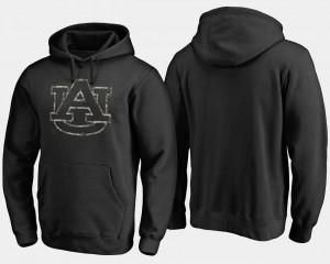 Black For Men College Hoodie Auburn Tigers Camo Cloak Big & Tall