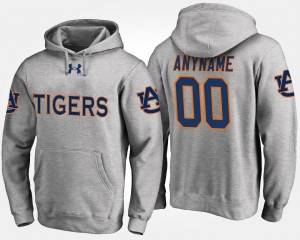 College Customized Hoodie #00 Gray Tigers For Men