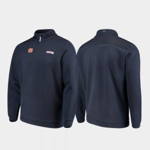 Navy Shep Shirt AU Men College Jacket Quarter-Zip