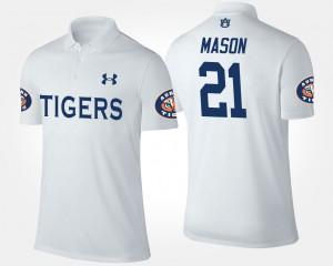 Tre Mason College Polo White #21 For Men's AU