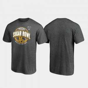 For Men's College T-Shirt Heather Gray Baylor Bears 2020 Sugar Bowl Bound Scrimmage