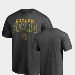 BU College T-Shirt Heathered Charcoal Square Up For Men's
